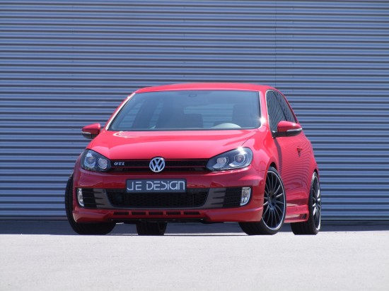 JE VW Golf VI GTI front 01 550x412 JE DESIGN puts R Power performance into the GTI