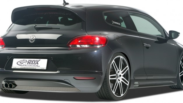 RDX Scirocco Heck schraeg 01 628x356 RDX RACEDESIGN presents new bodykit for the VW Scirocco