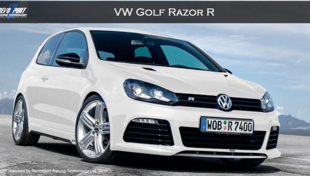 Razor R   Front TN 628x356 REVOZPORT's VW Golf VI Razor R
