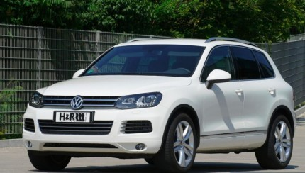 HR VW Touareg 430x244 H&R VW Touareg: Driving Pleasure for every Occasion