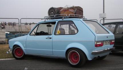 ratstyle vw golf 1 430x244 Rat style VW Golf I