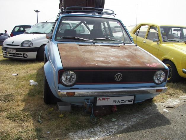 ratstyle vw golf 1 a 628x471 Rat style VW Golf I