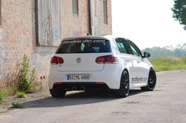 vw golf 5 mcchip 6 628x416 VW Golf R by Mcchip DKR