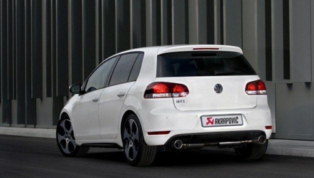 akrapovic exhaust gti 628x356 Akrapovic exhaust system for Golf VI GTI
