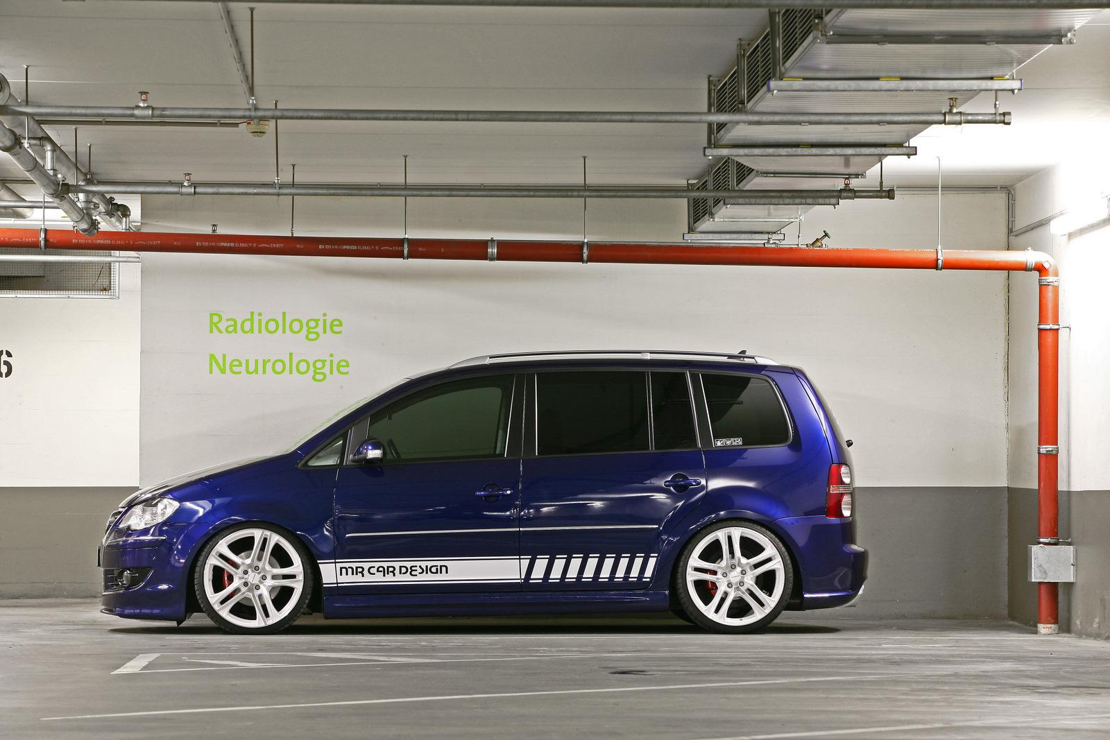 VW Touran tuned by MR Car Design