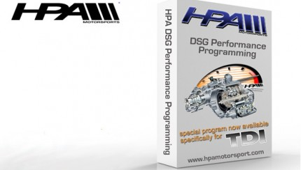 hpa 430x244 HPA releases DSG Performance Programming for the TDI