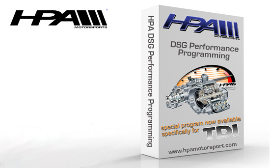hpa HPA releases DSG Performance Programming for the TDI