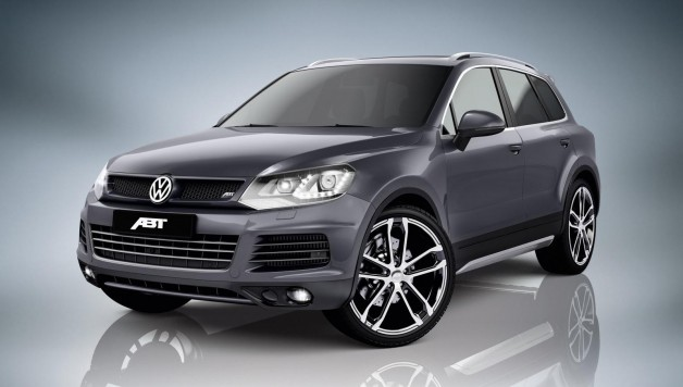 vw touareg abt 2 628x356 The new VW Touareg by Abt