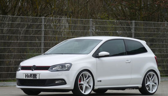 vwpolohr H&R Polo GTI: The dynamic wolf in sheeps clothing