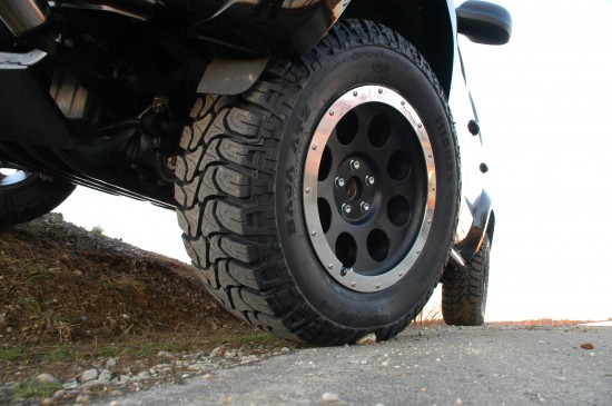 VW Amarok delta 4x4 tuning 1 550x365 Bigger wheels for the VW Amarok