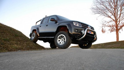 VW Amarok delta 4x4 tuning wheels 430x244 Bigger wheels for the VW Amarok