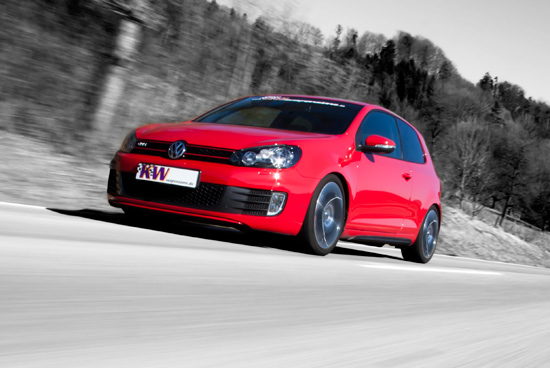 KW VW Golf VI GTI 05 KW coilover suspension with Dynamic Damping system