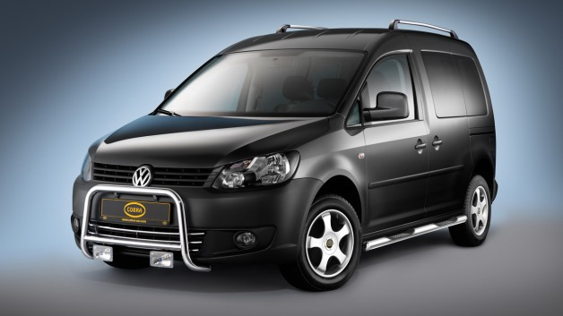 COBRA Cad Pic1 628x353 Exclusive Accessories for the VW Touran, Sharan and Caddy
