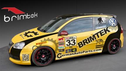 brimtek vwgolf 430x244 Brimtek Motorsports Revisits the Podium at Miller Motorsports Park