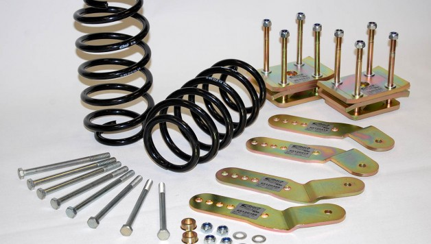 Eibach Caddy Lowering kit 628x356 Eibach VW Caddy Pro Kit Lowering Kit