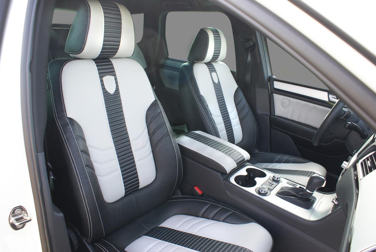 Touareg Ii Custom Interior Seats Vw Tuning Mag