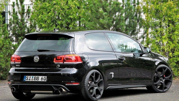 bb vw golf gti 35 edition 2 628x356 VW Golf GTI Edition 35 by B&B