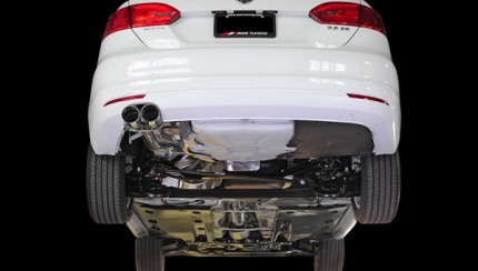 awe mk6 jetta track edition exhaust undercar 430x244 AWE Tuning Mk6 Jetta 2.5L Exhaust Systems