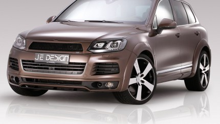 JE DESIGN Touareg 7P R Line 3 4 Front 03 430x244 JE DESIGN Widebody now available for the R Line