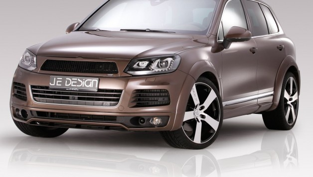JE DESIGN Touareg 7P R Line 3 4 Front 03 628x356 JE DESIGN Widebody now available for the R Line