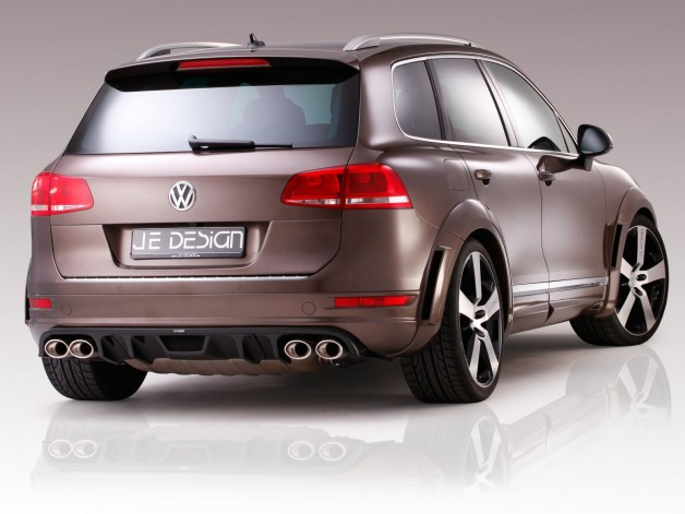 JE DESIGN Touareg 7P R Line 3 4 Heck 03 628x471 JE DESIGN Widebody now available for the R Line