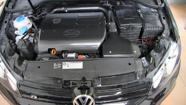 admissão BMC CRF Golf R 628x356 CRF – Carbon Racing Filters for the VW Golf R