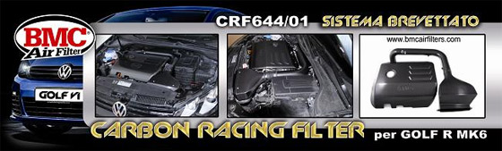 crf intake bmc CRF – Carbon Racing Filters for the VW Golf R