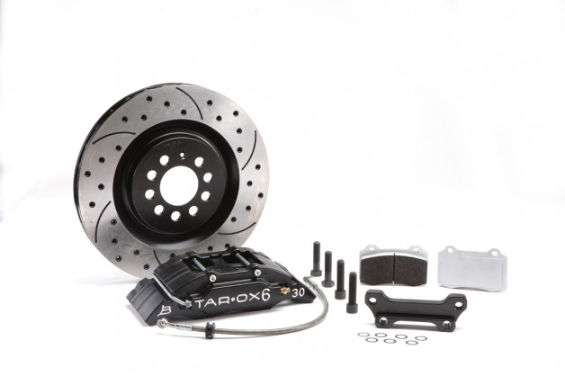 Tarox B30 6 kit 628x418 Tarox Motorsport Brake Kit For VW Polo Gti