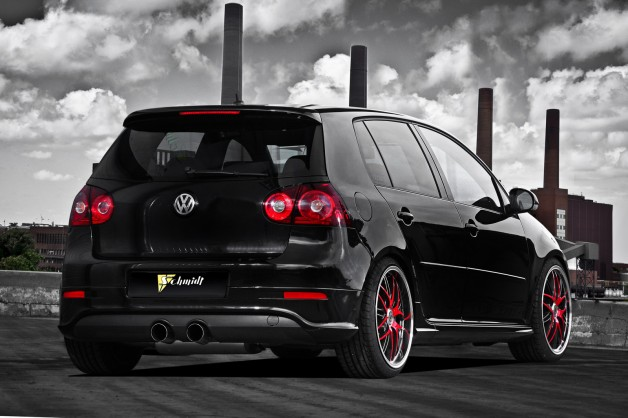 Schmidt Revolution VW Golf GTI MkV 4Carscoop 628x418 Schmidt Revolution Upgrades VW Golf GTI MkV