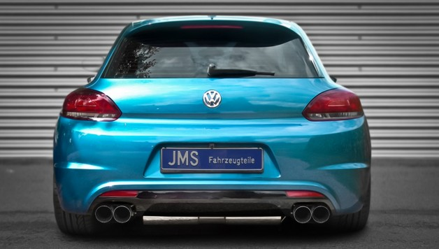 scirocco 628x356 New Scirocco rear bumper from JMS