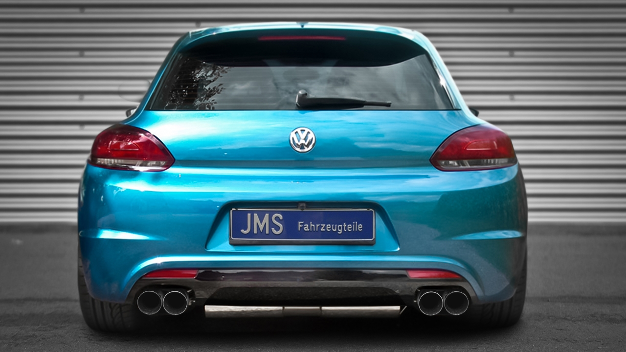 new scirocco rear bumper from jms. Black Bedroom Furniture Sets. Home Design Ideas