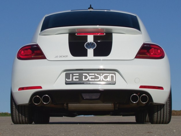JE DESIGN Beetle 16 Heck 01 628x471 JE DESIGN individualizes the VW Beetle