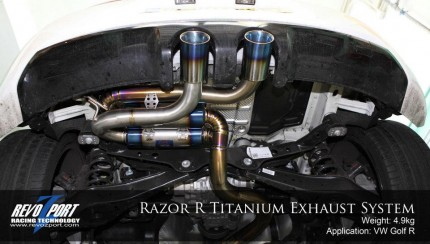 titanium exhaust 8 430x244 Razor R Titanium Exhaust