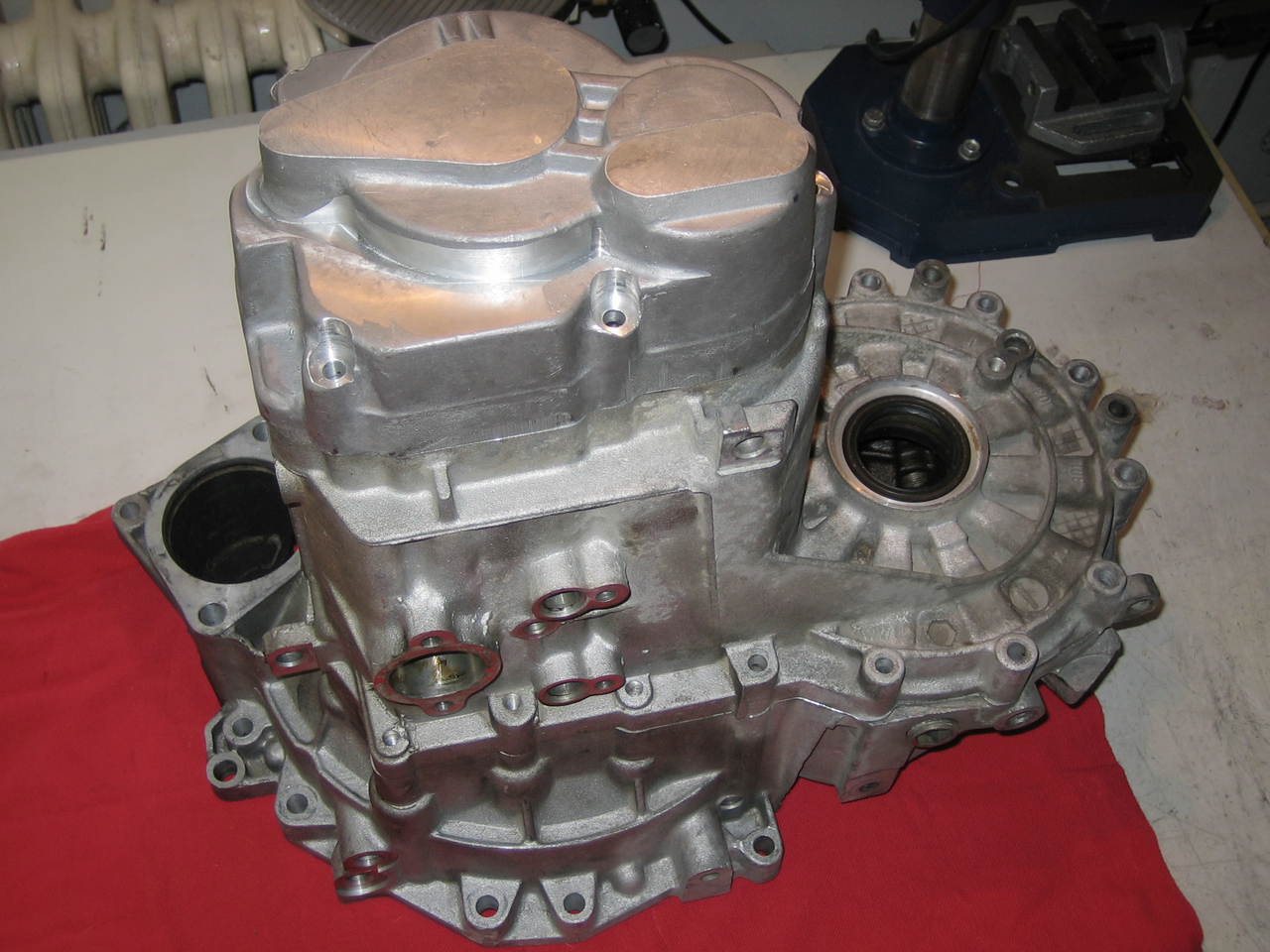 gearbox 2 full 100x75 Gearbox conversion kit