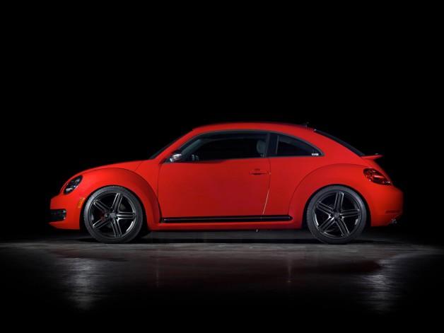2012 H and R Springs Volkswagen Beetle Turbo Project Studio 4 628x471 H&R Springs Volkswagen Beetle Turbo Project