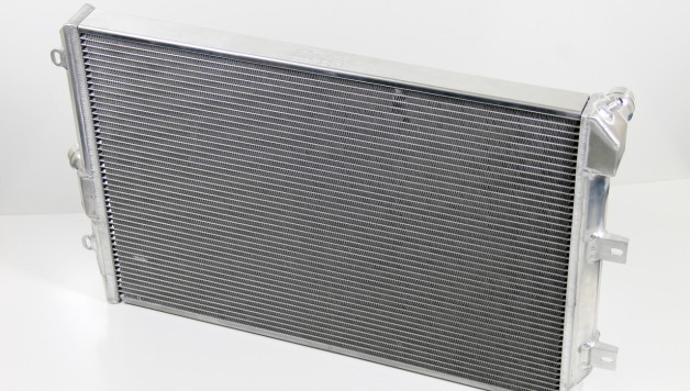 Forge VW Group Alloy Radiator 628x356 Forge Motorsport Uprated radiator for VW Group cars