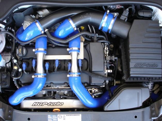 vw golf r hgp turbo 7 628x471 The most powerfull VW Golf VI R