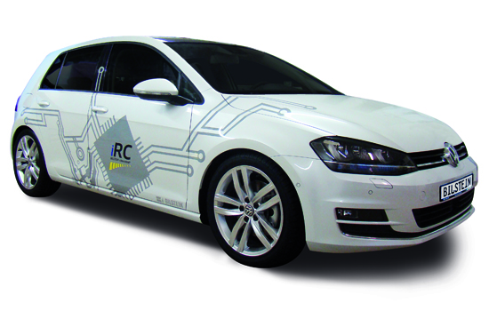 BILSTEIN iRC On Golf 7 BILSTEIN B16 Ridecontrol iRC I phone App