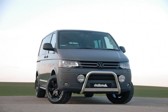 the vw t5 multivan from delta4x4 vw tuning mag. Black Bedroom Furniture Sets. Home Design Ideas