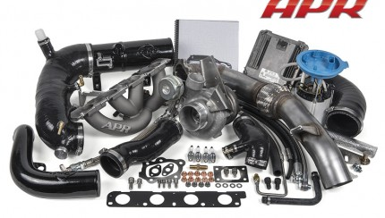 stage3 20t ea113 awd system 430x244 APR Presents the Golf R Stage III Turbocharger System!