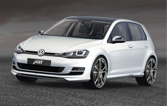 ABT GolfVII Front1 550x351 ABT Sportsline and the new Golf