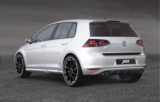 ABT GolfVII Heck 550x351 ABT Sportsline and the new Golf