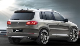 ABT VW Tiguan Rear 280x161 the ABT Tiguan
