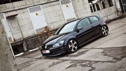 KW Golf7 Front 01 430x244 KW coilovers for the new Volkswagen Golf VII