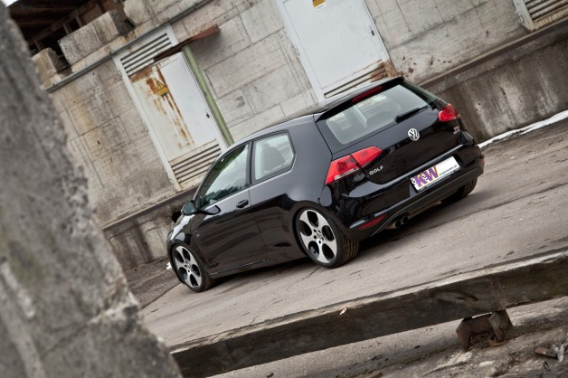 KW Golf7 Heck 01 628x418 KW coilovers for the new Volkswagen Golf VII