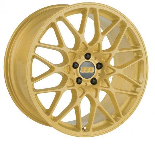 bbs RX309Gold 2 matt 01 628x590 BBS extends range of sizes for CH R and SV models