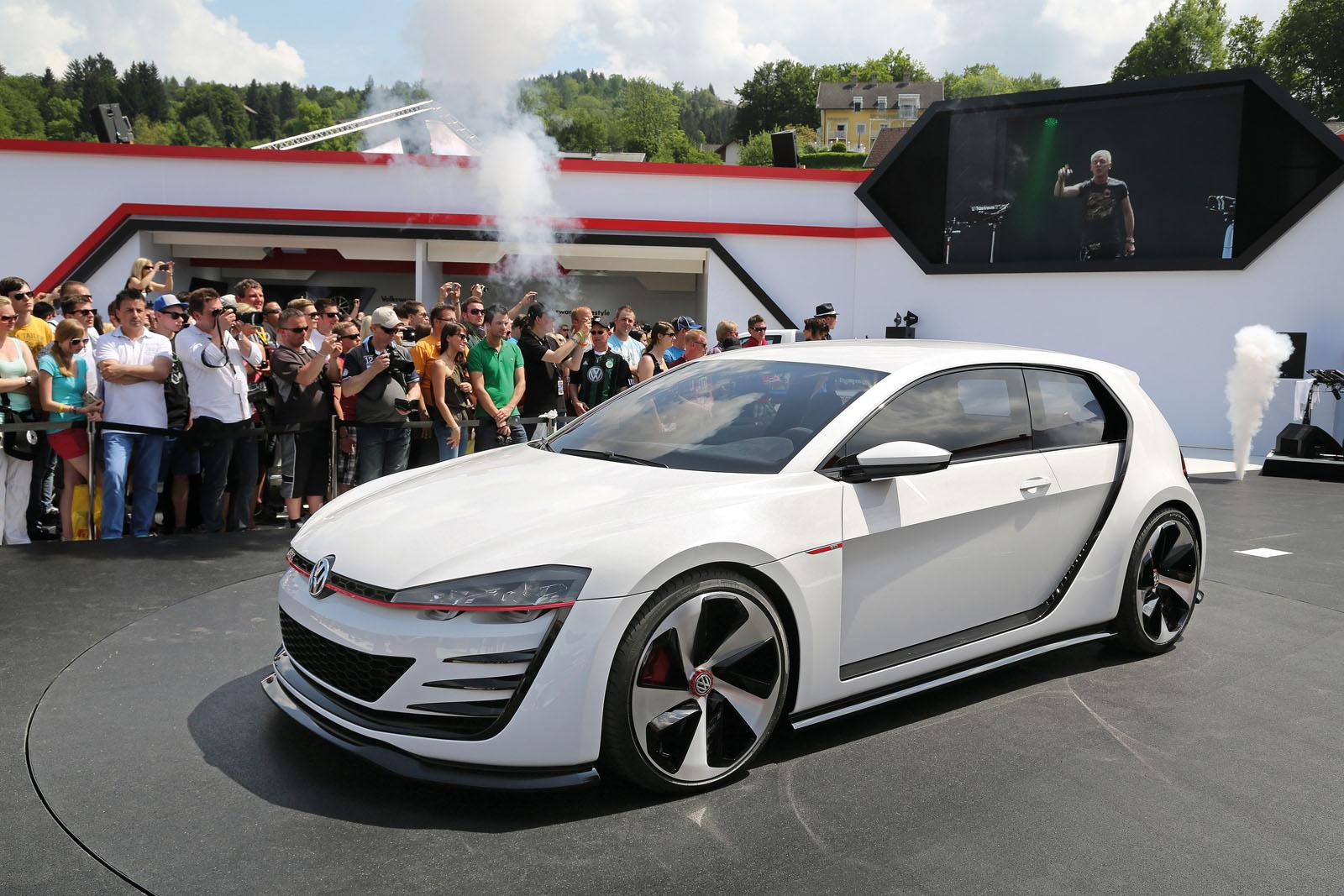 Volkswagen Design Vision GTI Concept 3 628x356 VW Design Vision GTI Debuts  At Wörthersee