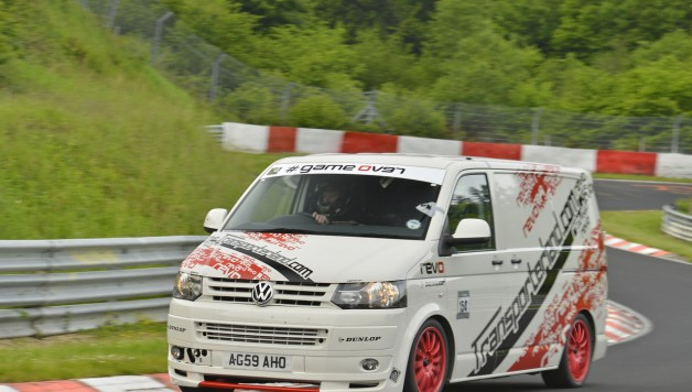DN8A 0431 628x356 Revo VW T5 Smashes Ring Lap Record On First Attempt