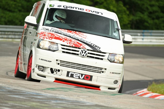 DN8B 0011 628x418 Revo VW T5 Smashes Ring Lap Record On First Attempt