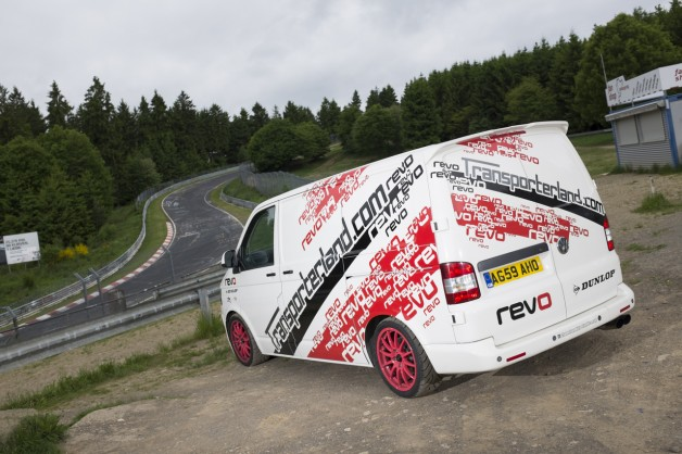 DSF2110 628x418 Revo VW T5 Smashes Ring Lap Record On First Attempt